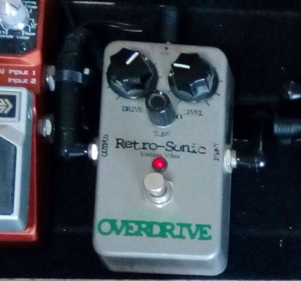 O CAMBIO / RETROSONIC OVER-DRIVE Eight-0-Eight