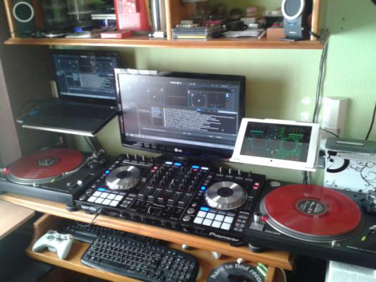 Controlador dj Pioneer ddj sx como nuevo