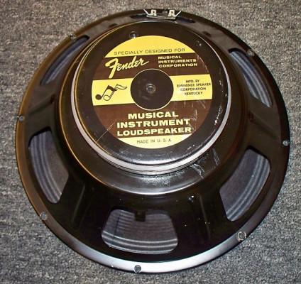 "Fender Made In Usa Speaker 12"" 8 ohm 75 watts"