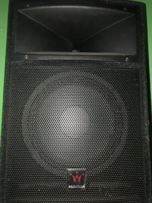 Pareja de Altavoces Musicson 250W Rms