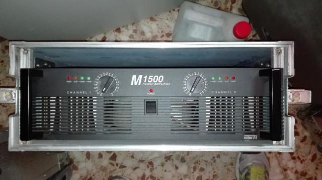 Etapa de potencia Inter-M  M1500