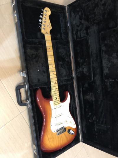 Fender Stratocaster American Standard Siena Sunburst