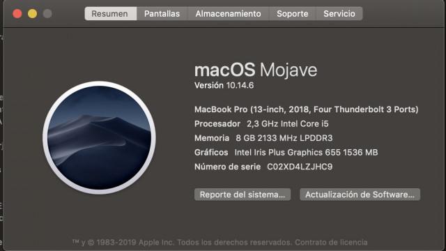 oportunidad MacBook Pro de 13 pulgadas   Gris espacial