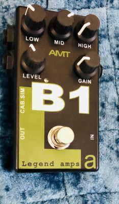 Pedal/ previo AMT B1 the legend.