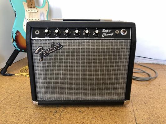 "Fender super champ 1982-1985 (Fullerton California) 18 watts. 10"""