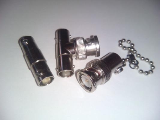 Conector BNC. Kit Tres piezas