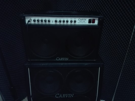 Carvin Combo mts 3200 2x12 + case a medida