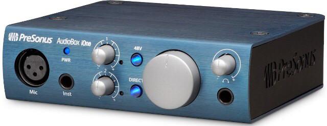 Interface presonus audiobox ione