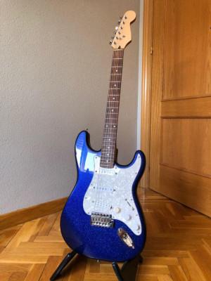 Stratocaster montada por piezas
