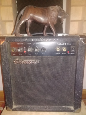 Silvertone amplificador de guitarra