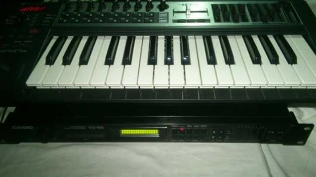 Teclado, mackie, groovebox, cajas de ritmos, sintetizadores