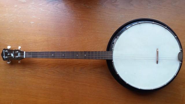 Vintage Harmony Reso-Tone 4-String Tenor Banjo