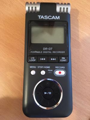Grabadora portátil digital Tascam DR-07
