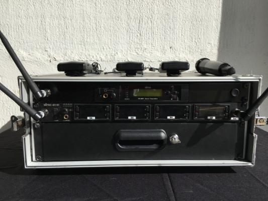 Micrófonos inalámbricos Mipro + in Ear
