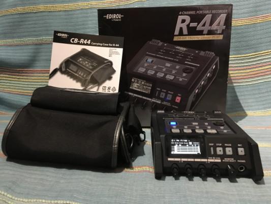 Vendo grabador Edirol R-44 + Bolsa + Batería externa