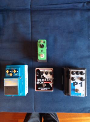 Pack de pedales (Boss, AMT, EH y Mooer)