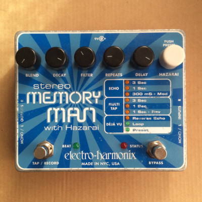 Pedal Electro Harmonix Stereo Memory Man