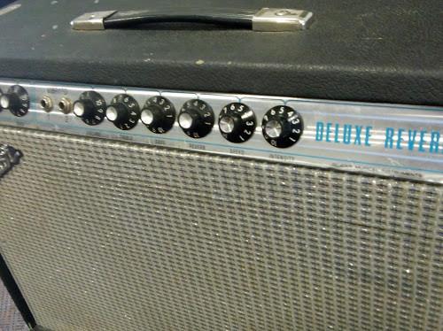 Amplificador valvulas Fender deluxe reverb silverface 73