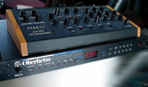 Oberheim Matrix 1000 6 Voice Analog Synthesizer y Access Matrix Programmer impecables envio a toda España