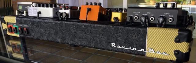 Rox in a Box Custom Pedalboards