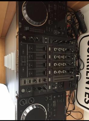 DJM 700 + (2) CDJ 350