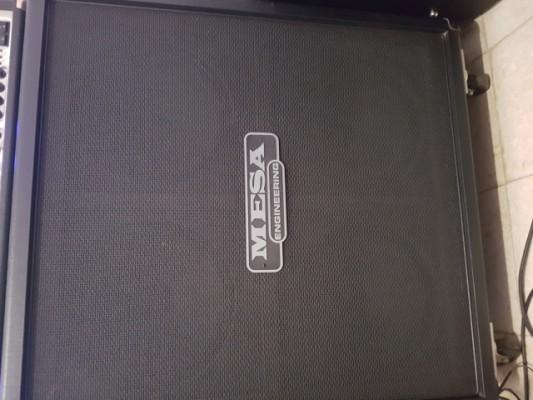 Mesa Boogie 4x12 recta.