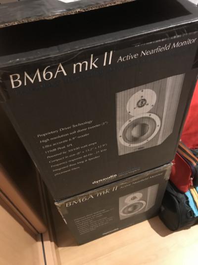 Dynaudio BM6A MKII •• Monitores activos de estudio ••