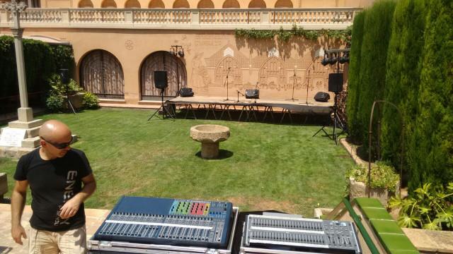 Soundcraft si expressión 3 más stagebox
