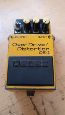 Boss Os 2 overdrive/distortion