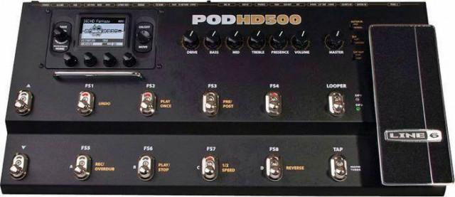 Cambio mi POD HD500 por POD X3 LIVE