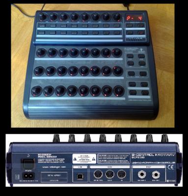 controlador  midi  bcr 2000 Behringer