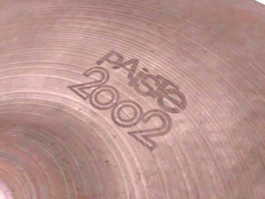 "ÚLTIMAS HORAS...!!! Hi Hat de 15"" Paiste 2002 Black Logo"