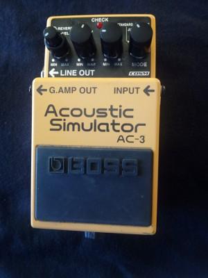 vendo pedal boss ac3 acoustic simulator rebajado 65 euros