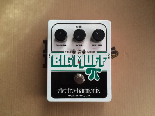 Pedal Electro Harmonix BIG MUFF PI con Tone Wicker