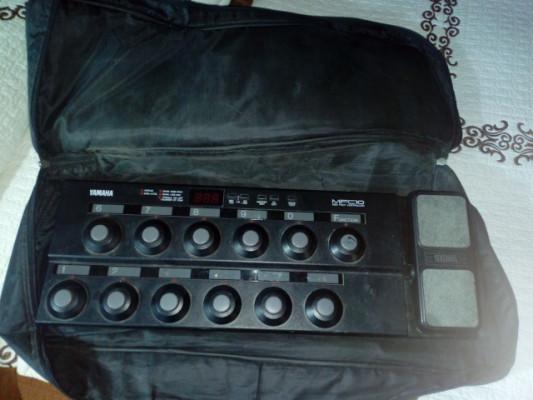Pedalera Midi Yamaha MFC10+funda rockbag