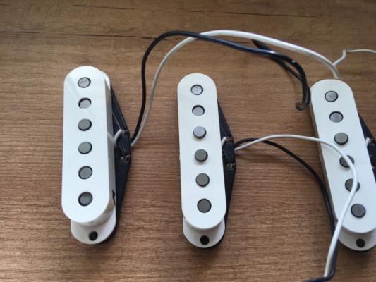 Set pastillas Fender Hot Strat Alnico III MEX [Envío incluido]