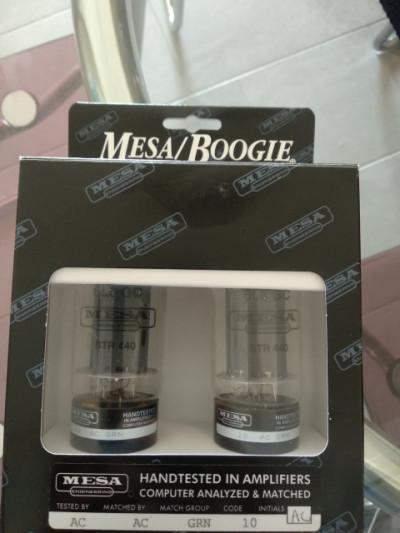 Set de Válvulas Mesa Boogie 6L6 STR 440