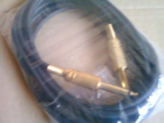 CABLES JACK-JACK 6,35mm ALTA DENSIDAD DE MALLA 4m