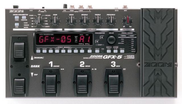 Zoom GFX-5 Procesador de guitarra