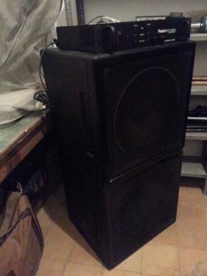 Monitores DAS 600 W + etapa CREST AUDIO