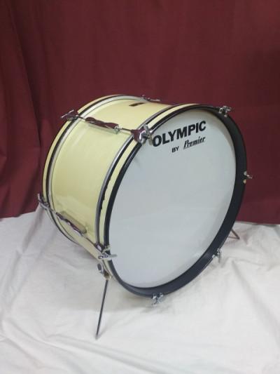 Bombo 22x12 OLYMPIC 70's caoba