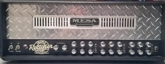 Cabezal Mesa boogie triple rectifier flight case