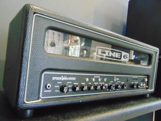 Line 6 Spider Valve HD100 (MKI) + Pedalera FBV Shortboard