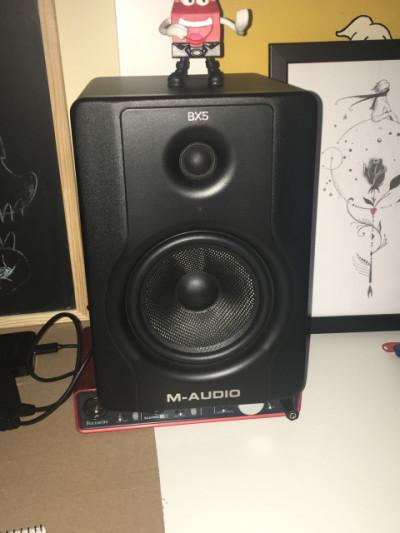 Vendo Monitores M-Audio BX5