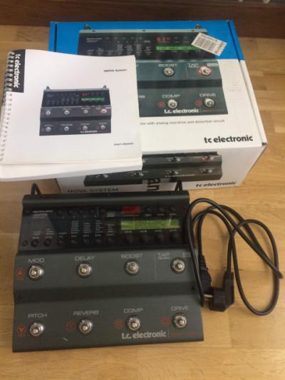TC ELETRONICS NOVA SYSTEM + SWITCH 3 + BOSS FV-500L