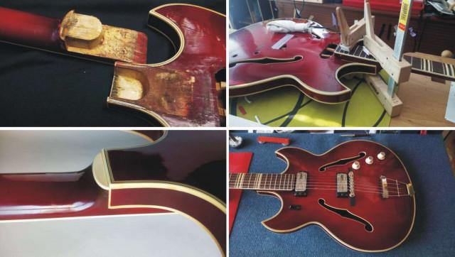 Taller de guitarras en Santander