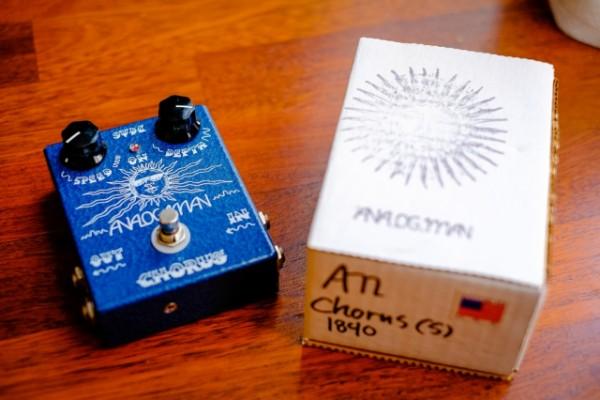 Analogman chorus stereo analógico