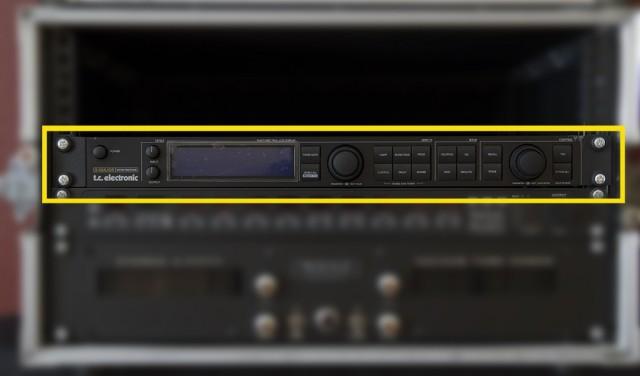 Multiefectos, procesador de efectos G Major TC electronics