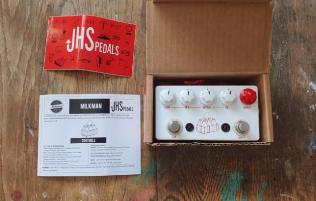 JHS Milkman Echo + boost