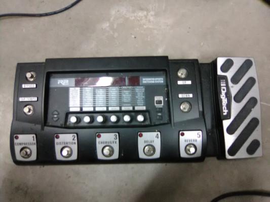 Digitech RP500 + fuente de alimentación